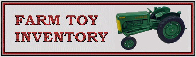 Allis Chalmers Farm Toy Inventory